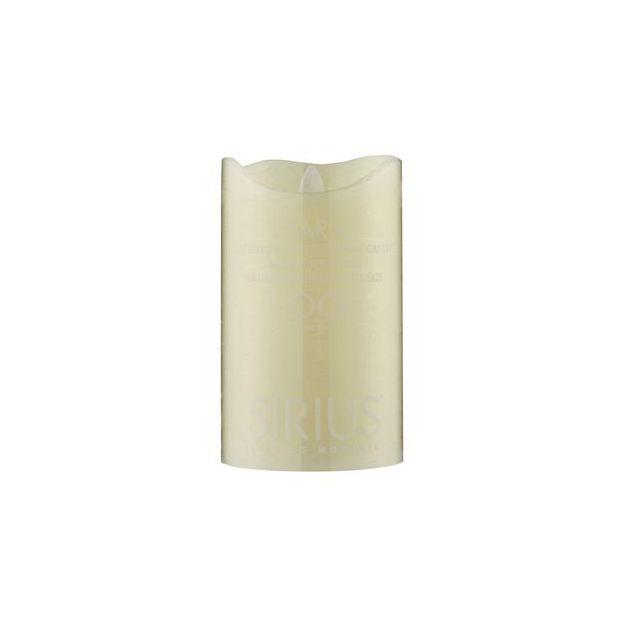 Sirius LED-Kerze Sara 12.5cm, Almond