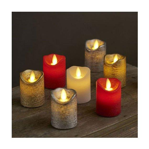Sirius LED-Kerzen Set Sara 2tlg weiss mini