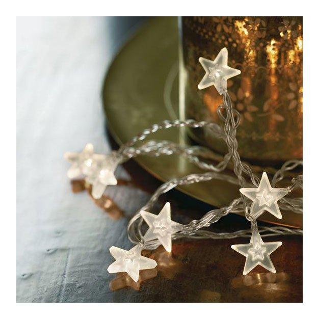 Sirius LED Lichterkette Melan Stern