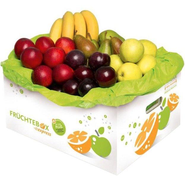 5-er Früchtebox mit frischen Früchten aus regionalem Anbau