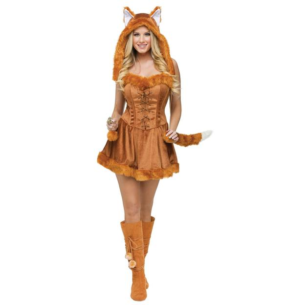 Foxy Lady Kostüm Fuchs Grösse M/L
