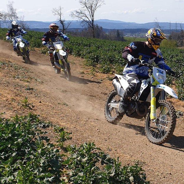 Schnupperstunde Motocross mit Vize-Schweizermeister
