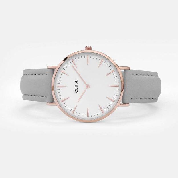 Montre Cluse La Bohème Rose Gold White/Grey
