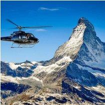 40 Minuten Helikopter Rundflug Matterhorn