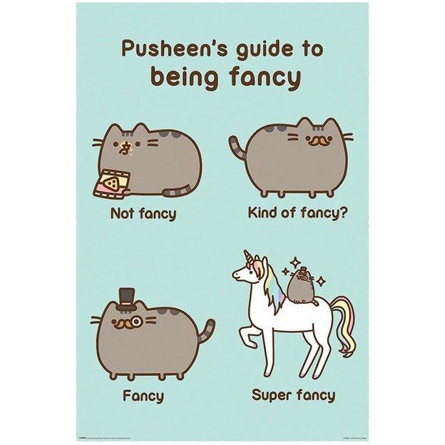 Pusheen Poster Super Fancy