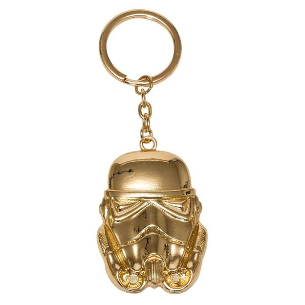 Star Wars Episode VIII Metall Schlüsselanhänger Golden Stormtrooper