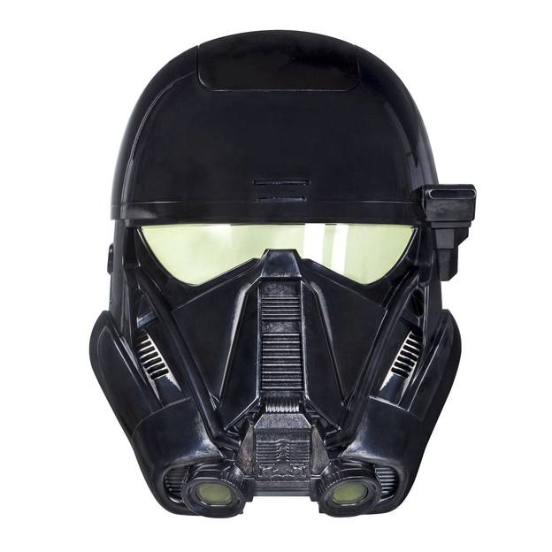 Star Wars Death Trooper elektronische Maske mit Stimmverzerrer
