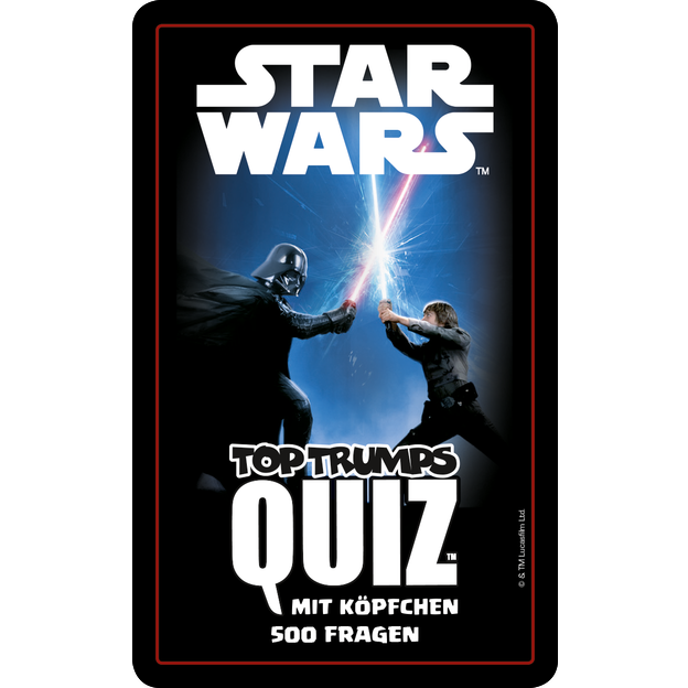 Star Wars Kartenspiel Quiz