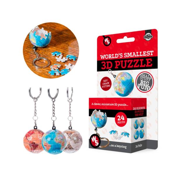 Le plus petit puzzle au monde – globe terrestre