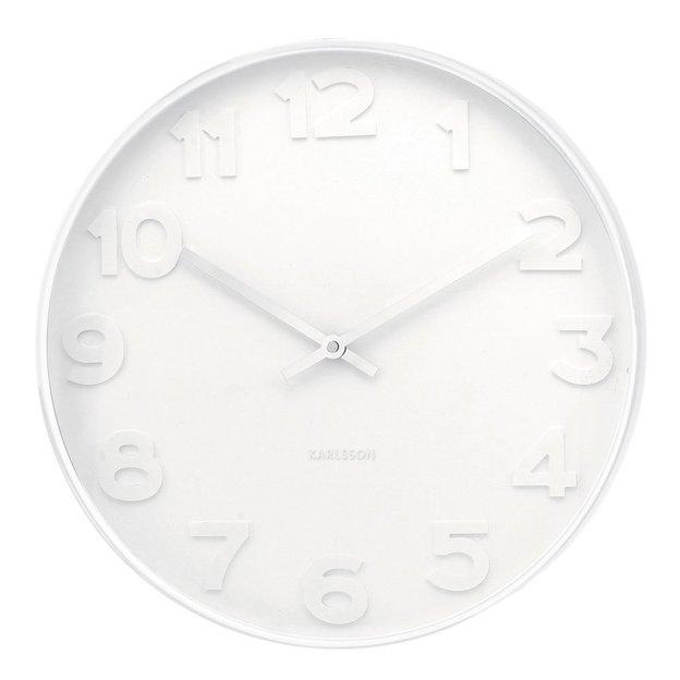Horloge murale Mr. White Ø 37.5cm