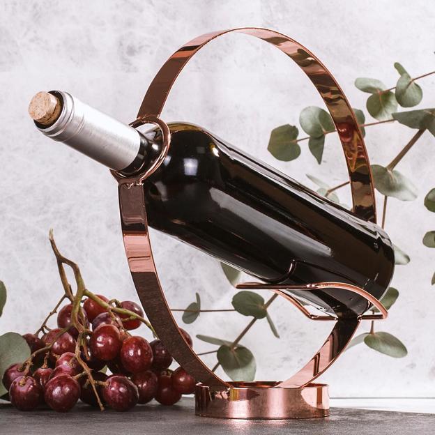 Design Weinflaschen Halter & Ausgiesser