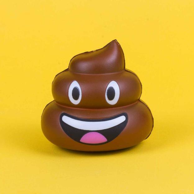 Balle anti-stress Emoji Caca