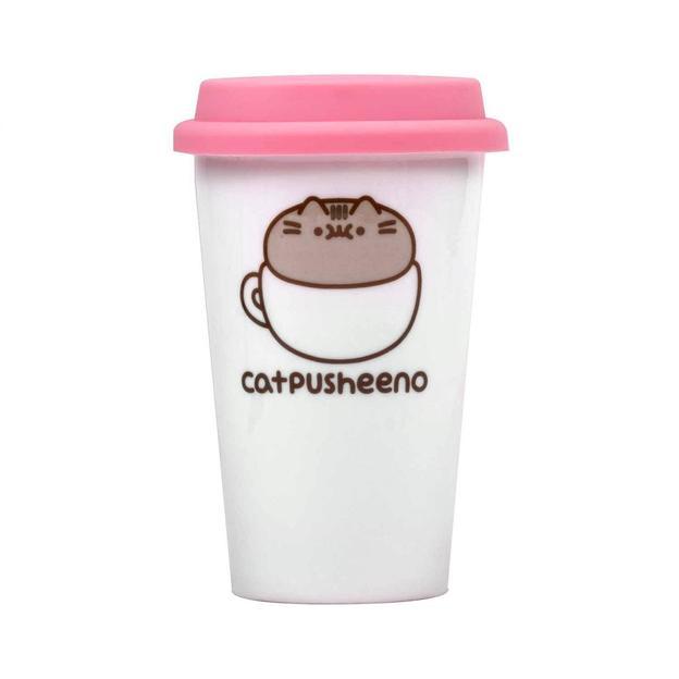 Travel mug Chat Pusheen the cat