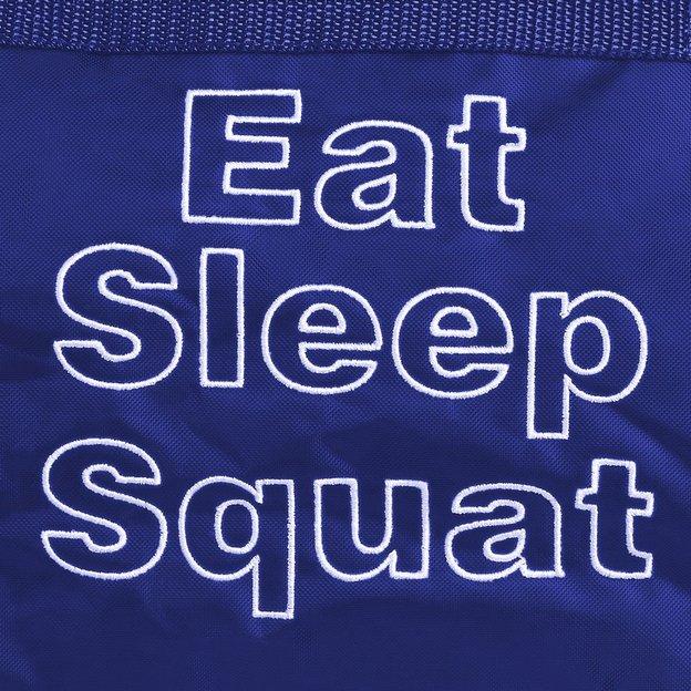 Personalisierbare Sporttasche 32 L. blau