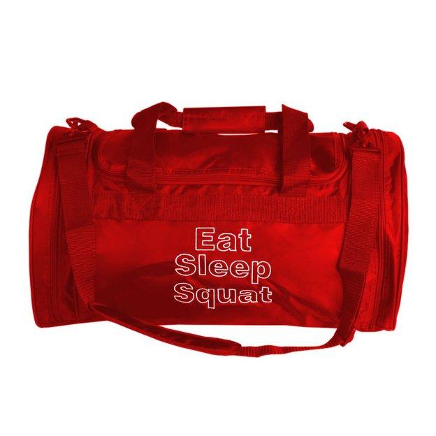 Personalisierbare Sporttasche 32 L. rot