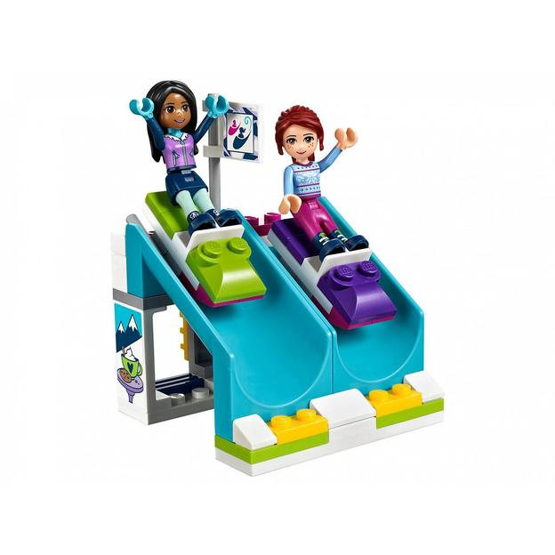 LEGO Friends Kakaowagen am Wintersportort