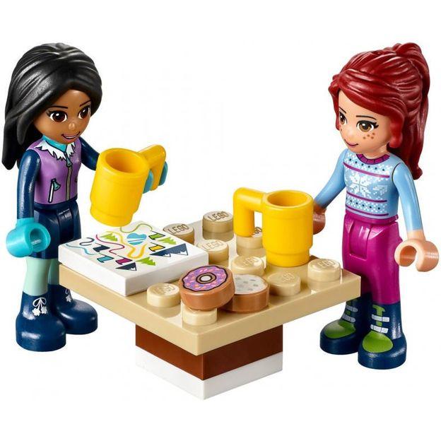 LEGO Friends Kakaowagen am Wintersportort