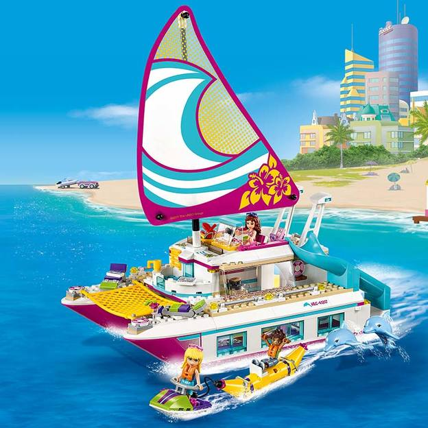 LEGO Friends Sonnenschein-Katamaran