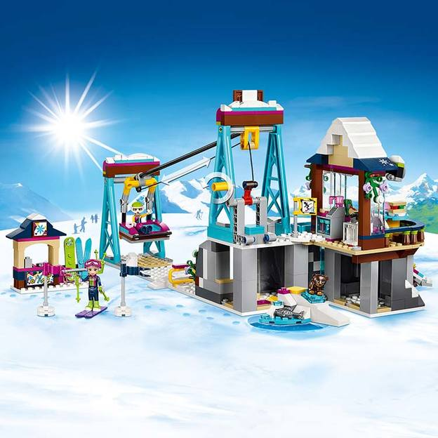 LEGO Friends Skilift im Wintersportort