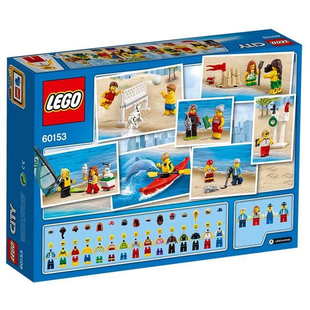 LEGO City Stadtbewohner – Ein Tag am Strand