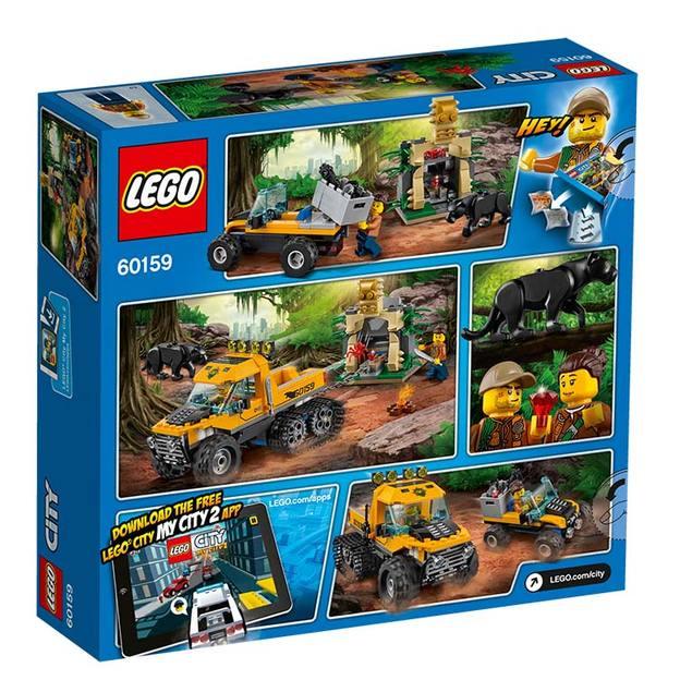 LEGO City Mission mit dem Dschungel-Halbkettenfahr