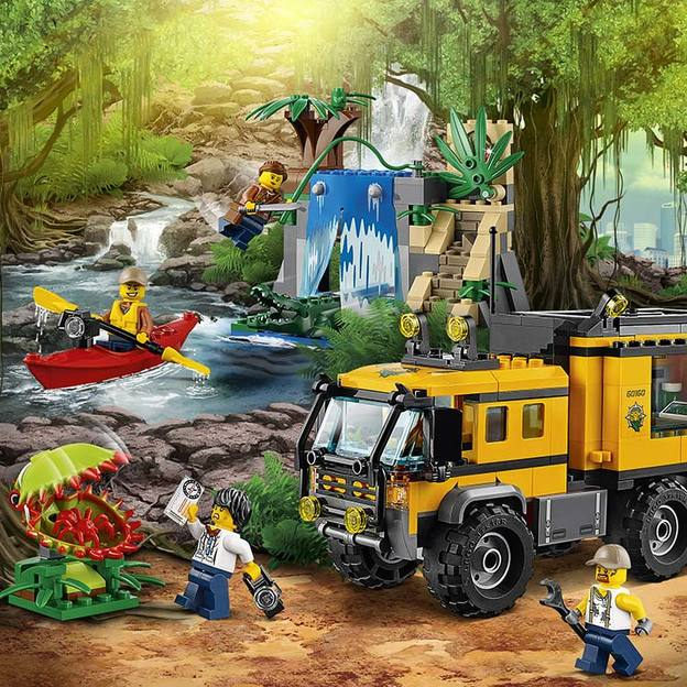 LEGO City Mobiles Dschungel-Labor