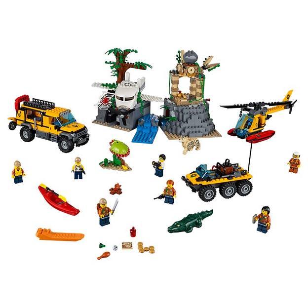LEGO City Dschungel-Forschungsstation