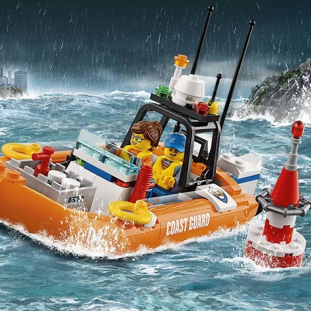 LEGO City Geländewagen mit Rettungsboot
