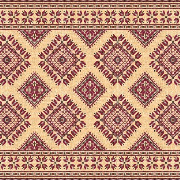 Beija Flor Tischset Cross Stitch 1 Stk.