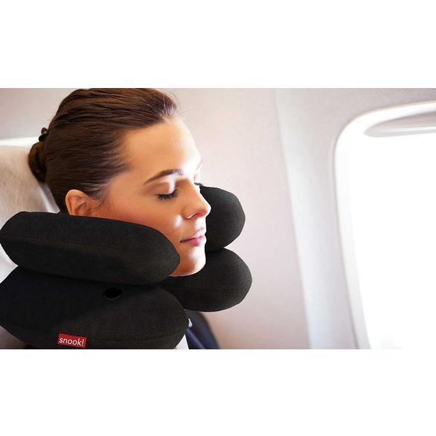 Coussin cale-nuque Snook pour les voyages en avion