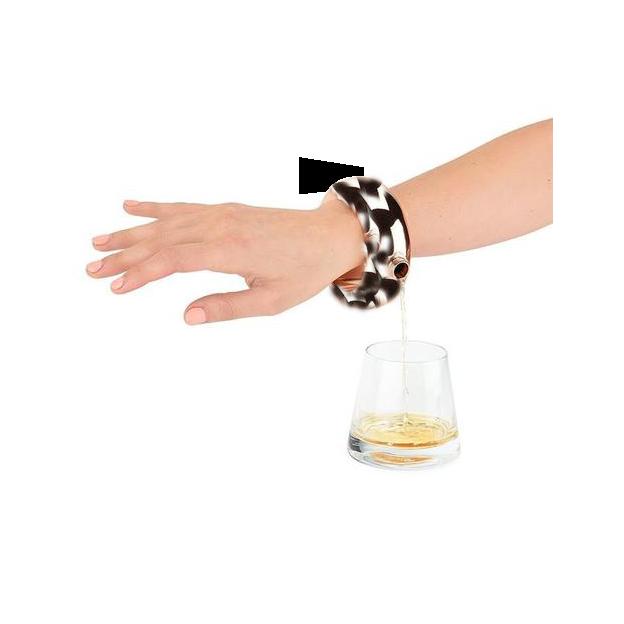 Bracelet flasque - pour boire en toute «discrétion»