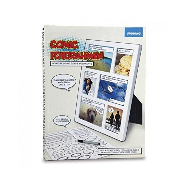 Fotorahmen Comic inkl. Stift und Aufkleber