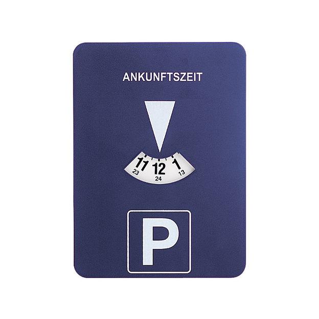 Automatische Parkscheibe mit Uhrwerk