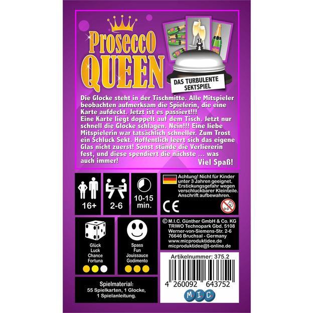 Ladies Night Prosecco Queen- Das turbulente Sektspiel