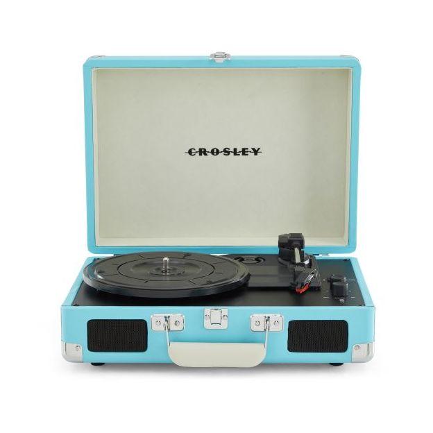 Crosley Cruiser Deluxe Plattenspieler hellblau