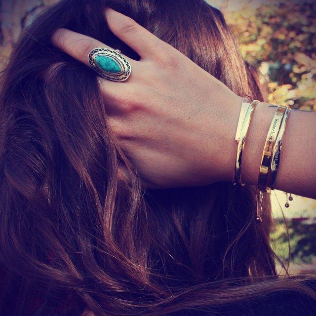 Bracelet personnalisé en argent 925 Layering