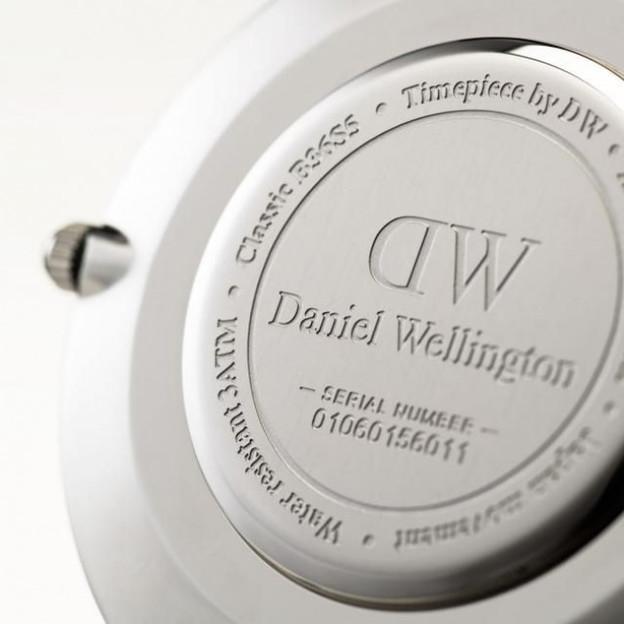 Montre femme Daniel Wellington Black Cornwall Ø 36mm, argent