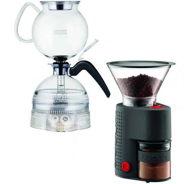 Bodum ePEBO Vakuum Kaffeemaschine inkl. original Mühle