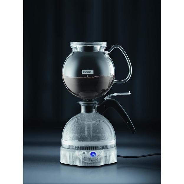 Bodum ePEBO Vakuum Kaffeebereiter inkl. Bodum Kaffeemühle