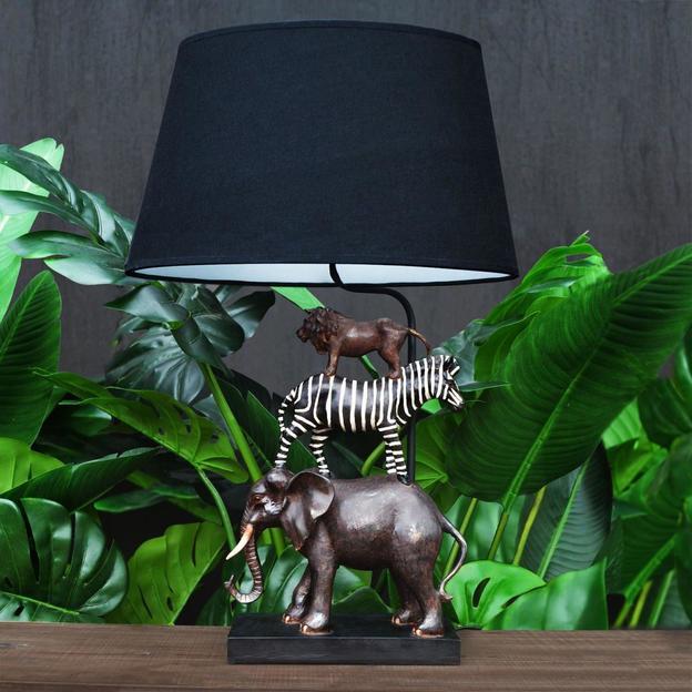 Lampe de chevet Safari