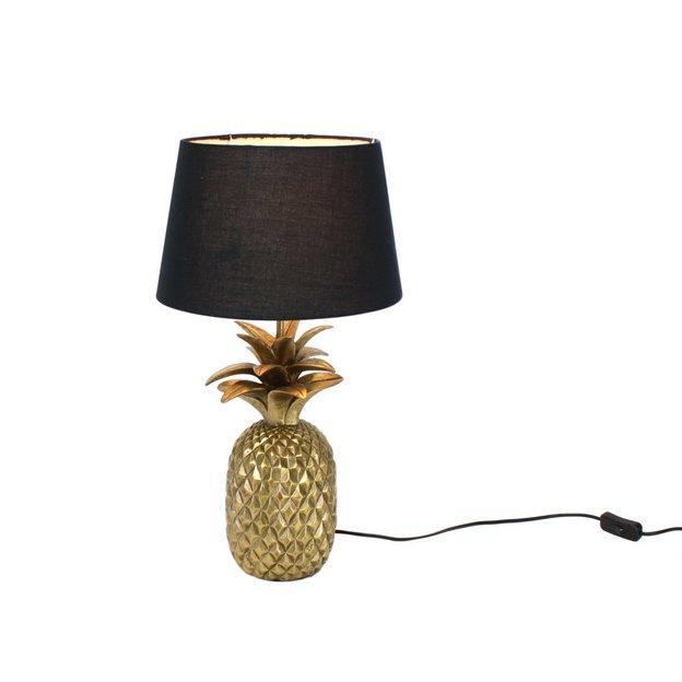 Lampe de chevet Ananas doré