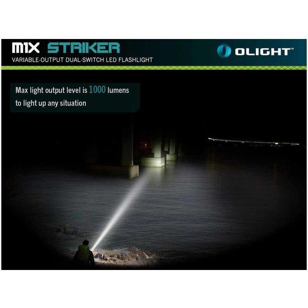 Lampe torche Olight Striker 1000 lumens
