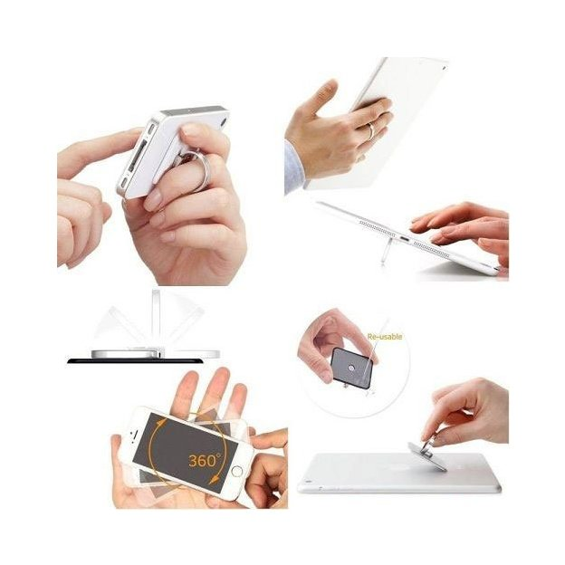 Smartphone Halter Katze - 360 Grad Fingerring