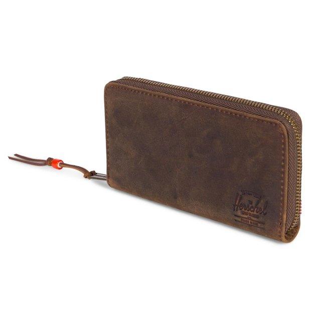 Herschel Portemonnaie Thomas Leather RFID Brown