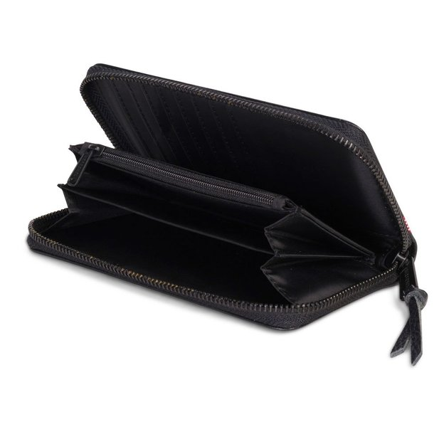 Herschel Portemonnaie Thomas Leather RFID Black