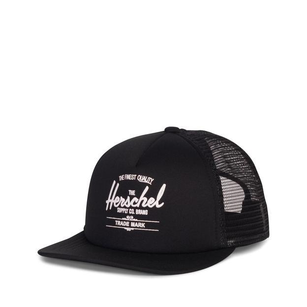Herschel Cap Whaler Mesh Soft Brim Black
