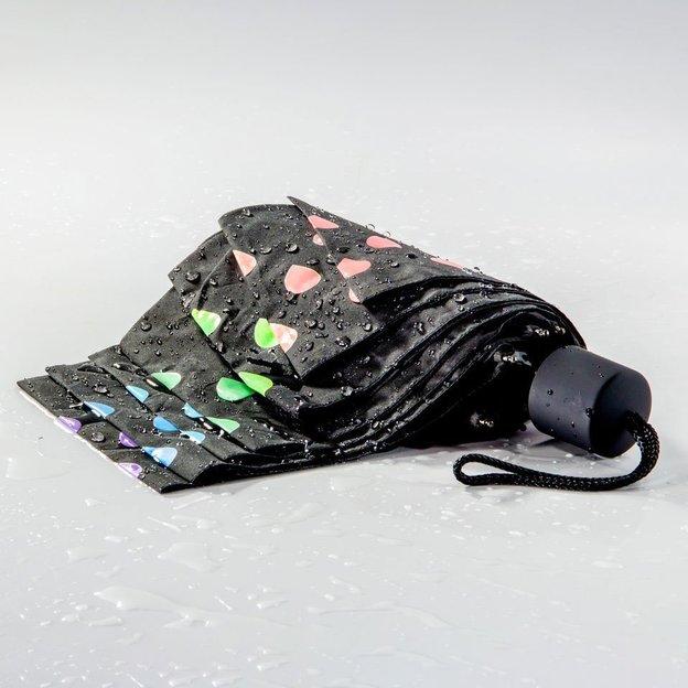 Regenschirm mit Farbwechsel
