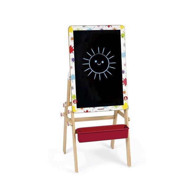 2-in-1 Schreibtisch und Wandtafel umwandelbar