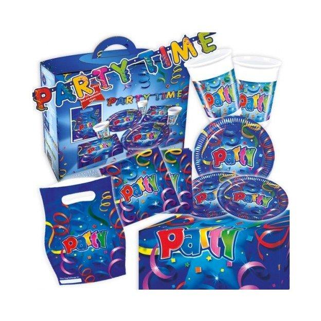 Party Box 50-teilig - farbenfrohe Geburtstagsdeko