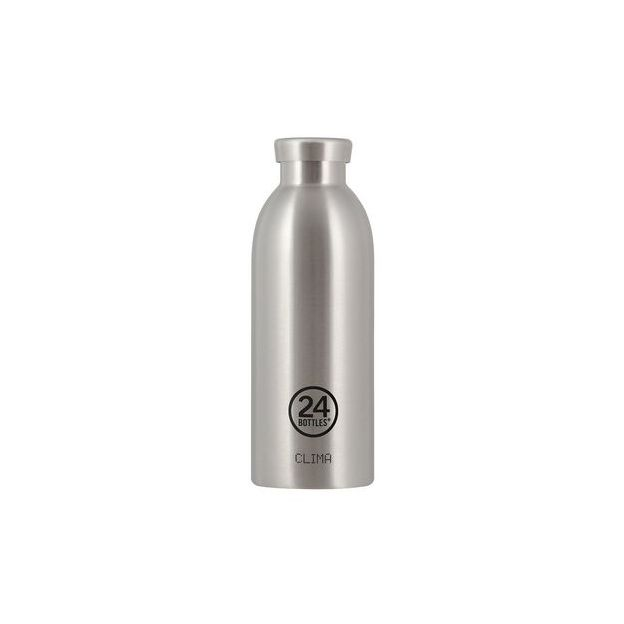 24Bottles Trinkflasche Clima 500ml Steel